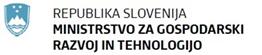 logo ministrstvo za gospodarski razvoj in tehnologijo